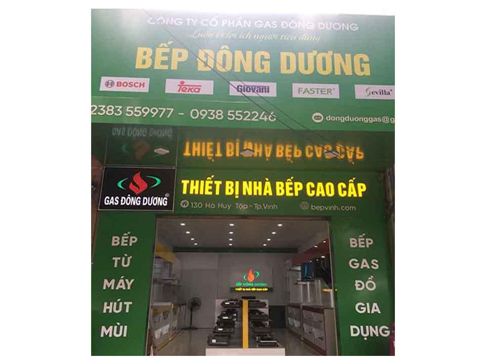 Địa chỉ bán Bếp gas âm tại Vinh