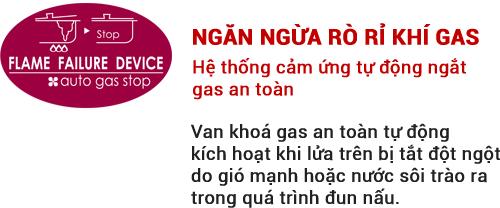 Ngăn ngừa rò rỉ gas