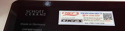 Mặt kính bếp từ Chefs EH-DIH888