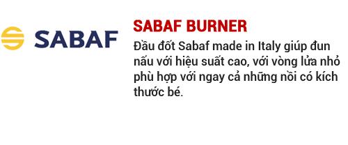 Đầu đốt Sabaf