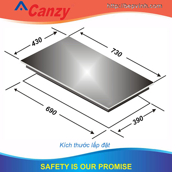 Bếp từ Canzy CZ-MIX82T